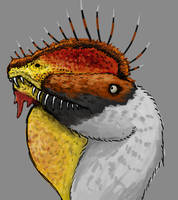Day 19 - Dilophosaurus wetherilli by Thobewill