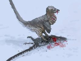 Theropods of North America: Acheroraptor by Thobewill