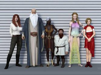 The Sizes by mekheke