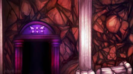 Underground Entrance background by JACKAPPLE680