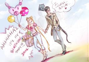 Happy Birthday, Usagi! by unconventionalsenshi