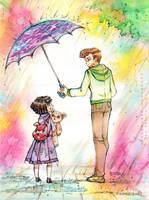 Rainbow Rain by unconventionalsenshi
