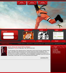 Web layout by Kewell07