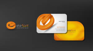 Elegant Logo_Business card by workstation