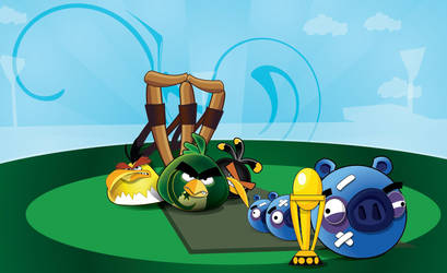Angry Birds World Cup Season 2 by workstation