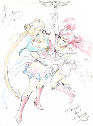 Sailor Mom by valkyriechan