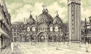 Piazza San Marco by EstebanZzZ