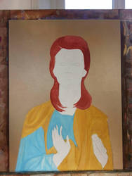 Iconographic Bowie in process by Psychedelic-PURR