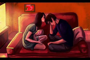 stop being so sad by viria13