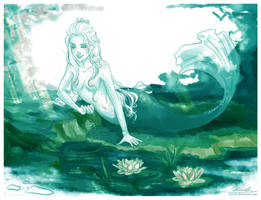 waternymph by viria13