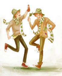 Weasley dance by viria13