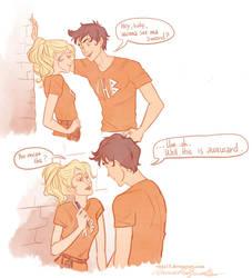 Percy's seducing skills by viria13