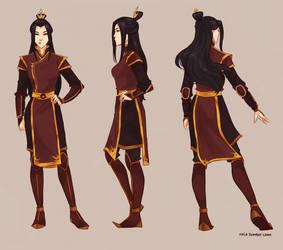 Zuko's daughter by viria13