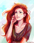 she is the sunlight by viria13
