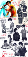 I clearly don't draw enough Percy Jackson... by viria13