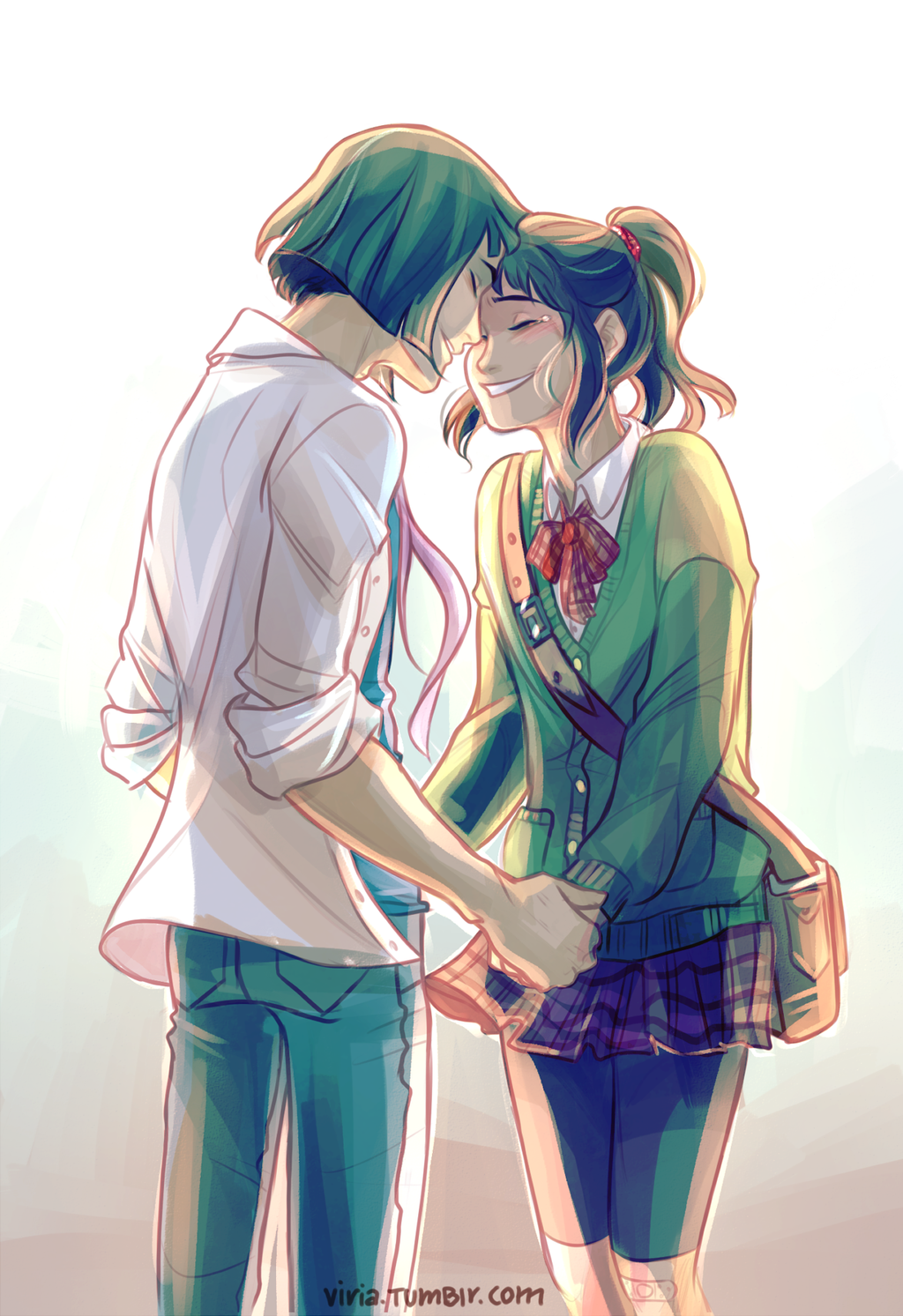 I will wait for you by viria13