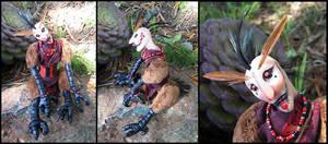 Axda the Bird Companion by Verdego