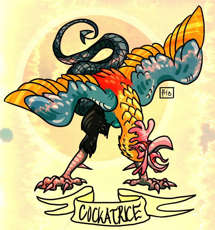 Cockatrice by Verdego