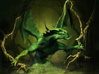 Swamp Dragon by reeks