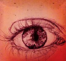 Eye Sketch by Crimsella