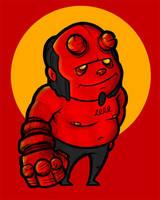 Hellboy Fanart by minouch