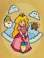 Princess Peach Fanart by minouch