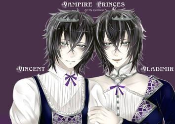 Vampire Twins by LyomeLuv