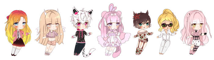 Chibis Batch1 by LyomeLuv