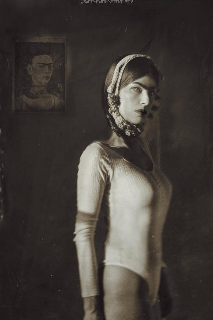 Birthday Self-portrait With Frida by RapidHeartMovement