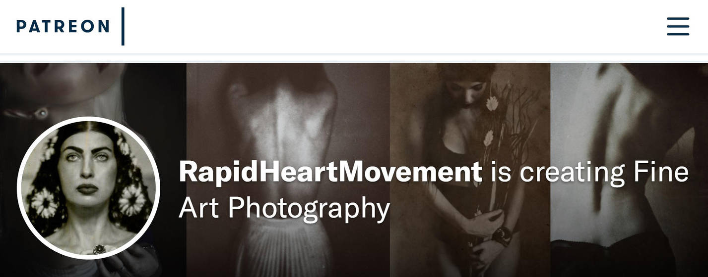 Patreon campaign : launch date April 1st, 2018 by RapidHeartMovement