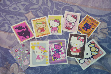 Hello Kitty Sticker Collection by crisisnyc