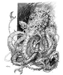 Concept- Dunwich Horror by NathanRosario