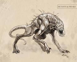 Creature Concept 13 by NathanRosario