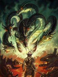 Kaliya's Lair - Talislanta by NathanRosario