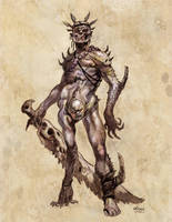Creature Concept 20 by NathanRosario