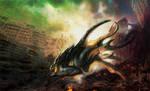Kaiju Creature 01 by NathanRosario