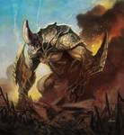 Kaiju Creature 02 by NathanRosario