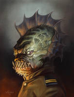 General Fish Head by NathanRosario