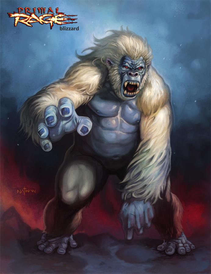 Primal Rage - Blizzard by NathanRosario on DeviantArt