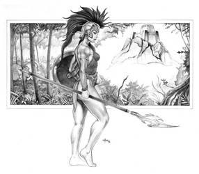 Amazon Warrior by NathanRosario