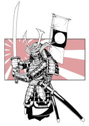 Samurai by NathanRosario