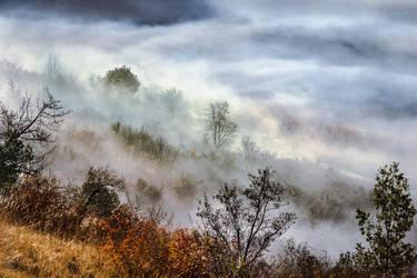 Skies Wanderings by OlivierAccart