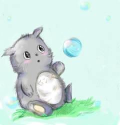 Totoro chibi by Suixere
