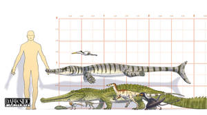 'A Jurassic Mystery' - Cast by Kronosaurus82