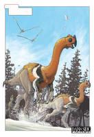 Gigantoraptor by Kronosaurus82