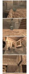 Labyrinth Room - Final Renders by Senerity