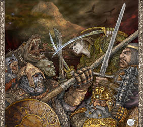 The Battle of the Five Armies by Nautilluz