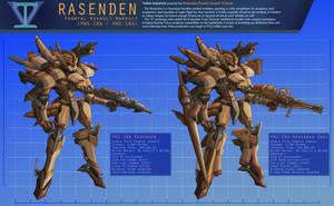 Rasenden Sheet by Setzuo