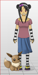 Pokemon Trainer OC: Gianna by TotalPokemon