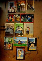 postcards by krizalitkristalin
